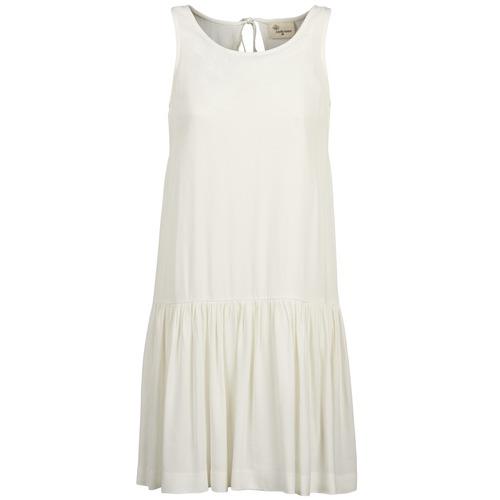 Kleidung Damen Kurze Kleider Stella Forest DELFINEZ Naturfarben
