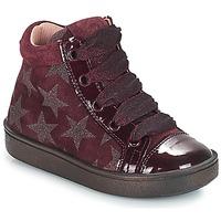 Schuhe Mädchen Sneaker High Acebo's MASSA Bordeaux