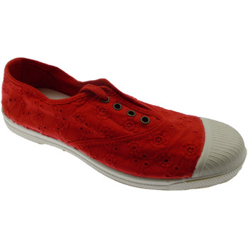 Schuhe Damen Slip on Natural World NW120rosso rosso