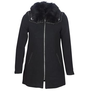 Kleidung Damen Mäntel Desigual COLLINE Schwarz