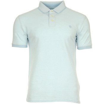 Kleidung Polohemden Timberland Millers River Oxford Polo Blau