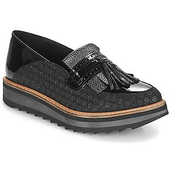 Schuhe Damen Slipper Regard RINOVI V2 COMET NERO Schwarz