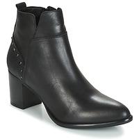 Schuhe Damen Low Boots Regard RUSTANO V1 MAIA NOIR Schwarz