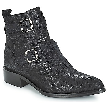 Schuhe Damen Boots Philippe Morvan SMAKY1 V2 DAISY LUX Schwarz