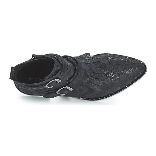 Philippe Morvan SMAKY1 V2 DAISY LUX Schwarz Schuhe Boots Damen 179