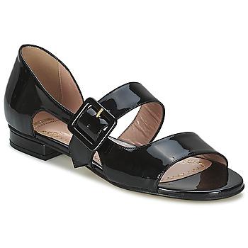 Schuhe Damen Sandalen / Sandaletten Moschino Cheap & CHIC LORETTA Schwarz