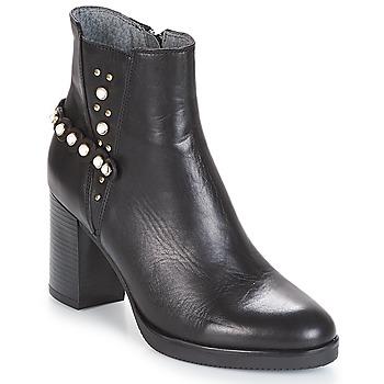 Schuhe Damen Low Boots Metamorf'Ose DAMOISEAU Schwarz