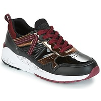 Schuhe Damen Sneaker Low Superdry URBAN STREET RUNNER Schwarz / Bordeaux