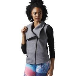 Kleidung Damen Sweatshirts Reebok Sport Lhs Quick Grau