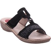 Schuhe Damen Pantoffel Softline Da.-Pantolette BLACK 001