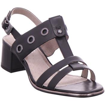 Schuhe Damen Sandalen / Sandaletten Jana Da.-Sandalette BLACK