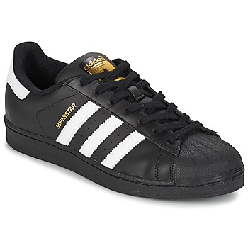 Schuhe Sneaker Low adidas Originals SUPERSTAR FOUNDATION Weiss / Schwarz