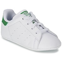 Schuhe Kinder Sneaker Low adidas Originals STAN SMITH GIFTSET Weiss / Grün