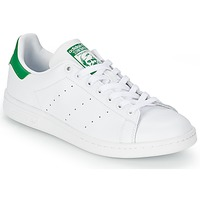 Schuhe Sneaker Low adidas Originals STAN SMITH Weiss / Grün