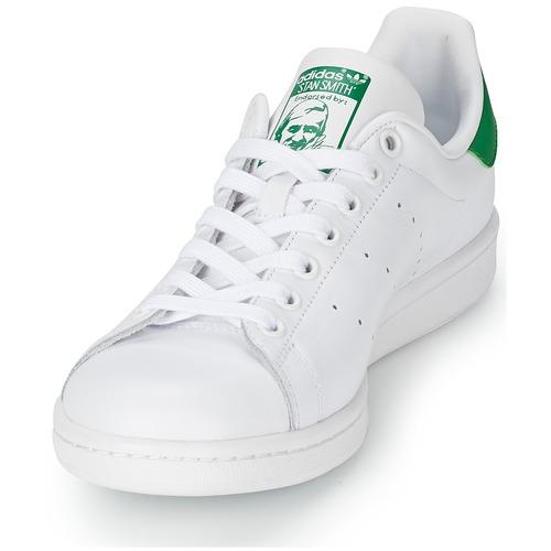 adidas Originals STAN SMITH Weiss / Grün  Schuhe Sneaker Low  94,99
