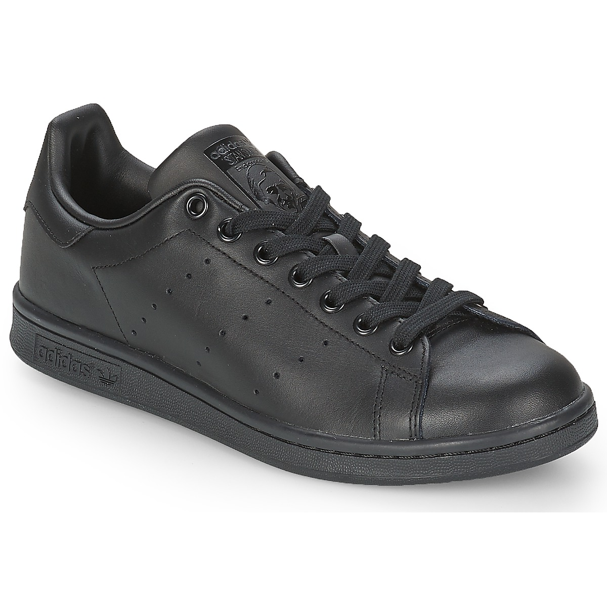1e49060c845feb adidas Originals STAN SMITH Schwarz - Kostenloser Versand bei Spartoode ! -  Schuhe Sneaker Low 94
