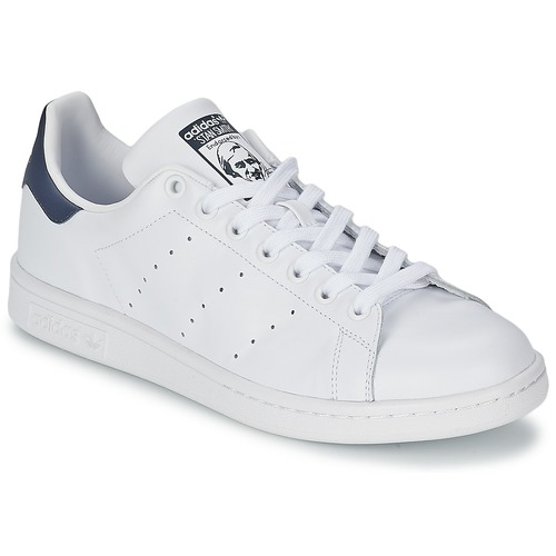 adidas Originals STAN SMITH Weiss / Blau Schuhe Sneaker Low 75,99