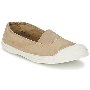 Schuhe Damen Ballerinas Bensimon TENNIS ELASTIQUE Beige