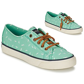 Schuhe Damen Sneaker Low Sperry Top-Sider SEACOAST Grün