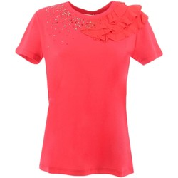 Kleidung Damen T-Shirts My Twin By Twin Set JS82RS rot