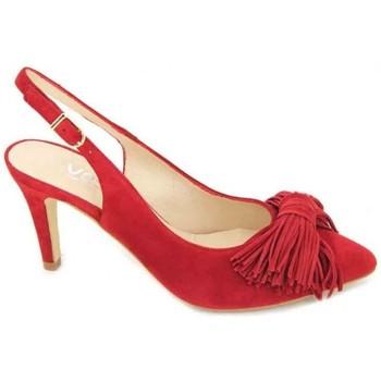 Schuhe Damen Sandalen / Sandaletten Calzados Vesga Estiletti 2284 Zapatos de Mujer rot