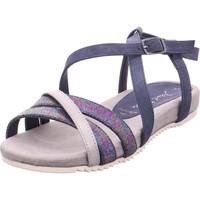 Schuhe Damen Sandalen / Sandaletten Jane Klain Sandalen bis 30mm glatter Bode DK DENIM 823