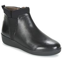 Schuhe Damen Boots Stonefly PASEO IV 5 NAPPA Schwarz