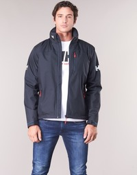 Kleidung Herren Jacken Helly Hansen CREW HOODED MIDLAYER JACKET Marine