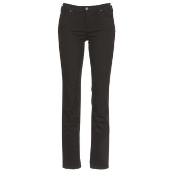 Kleidung Damen Straight Leg Jeans Lee MARION STRAIGHT Schwarz