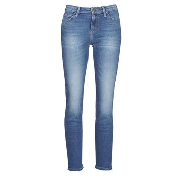Kleidung Damen Straight Leg Jeans Lee ELLY Blau