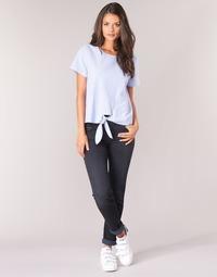 Kleidung Damen Straight Leg Jeans Lee ELLY ZIP Schwarz