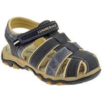 Schuhe Kinder Pantoletten / Clogs Lumberjack LEVI RAGNETTO STRAPPO sabot