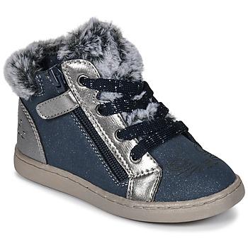 Schuhe Mädchen Sneaker High Mod'8 OUMINOU Marine