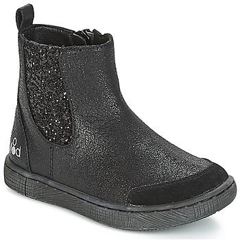 Schuhe Mädchen Boots Mod'8 BLABLA Schwarz