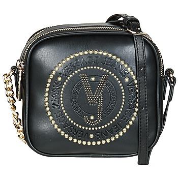 Taschen Damen Umhängetaschen Versace Jeans AMACULA Schwarz