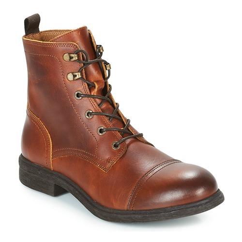 Selected TERREL LEATHER BOOT Cognac  Schuhe Boots Herren 119,99