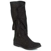 Schuhe Damen Klassische Stiefel Papucei LUCIA Schwarz