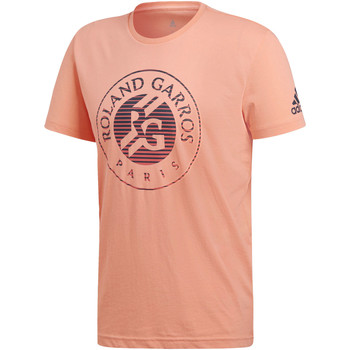 Kleidung Herren T-Shirts adidas Performance Roland Garros T-Shirt orange