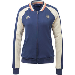 Kleidung Damen Trainingsjacken adidas Performance Roland Garros Jacke blue