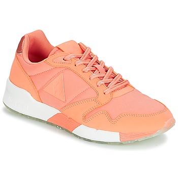 Schuhe Damen Sneaker Low Le Coq Sportif OMEGA X W METALLIC Papaya / Punch