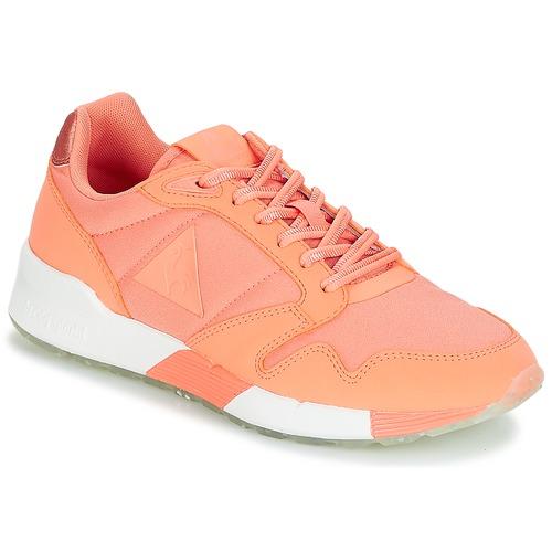Le Coq Sportif OMEGA X W METALLIC Papaya / Punch  Schuhe Sneaker Low Damen 71,99