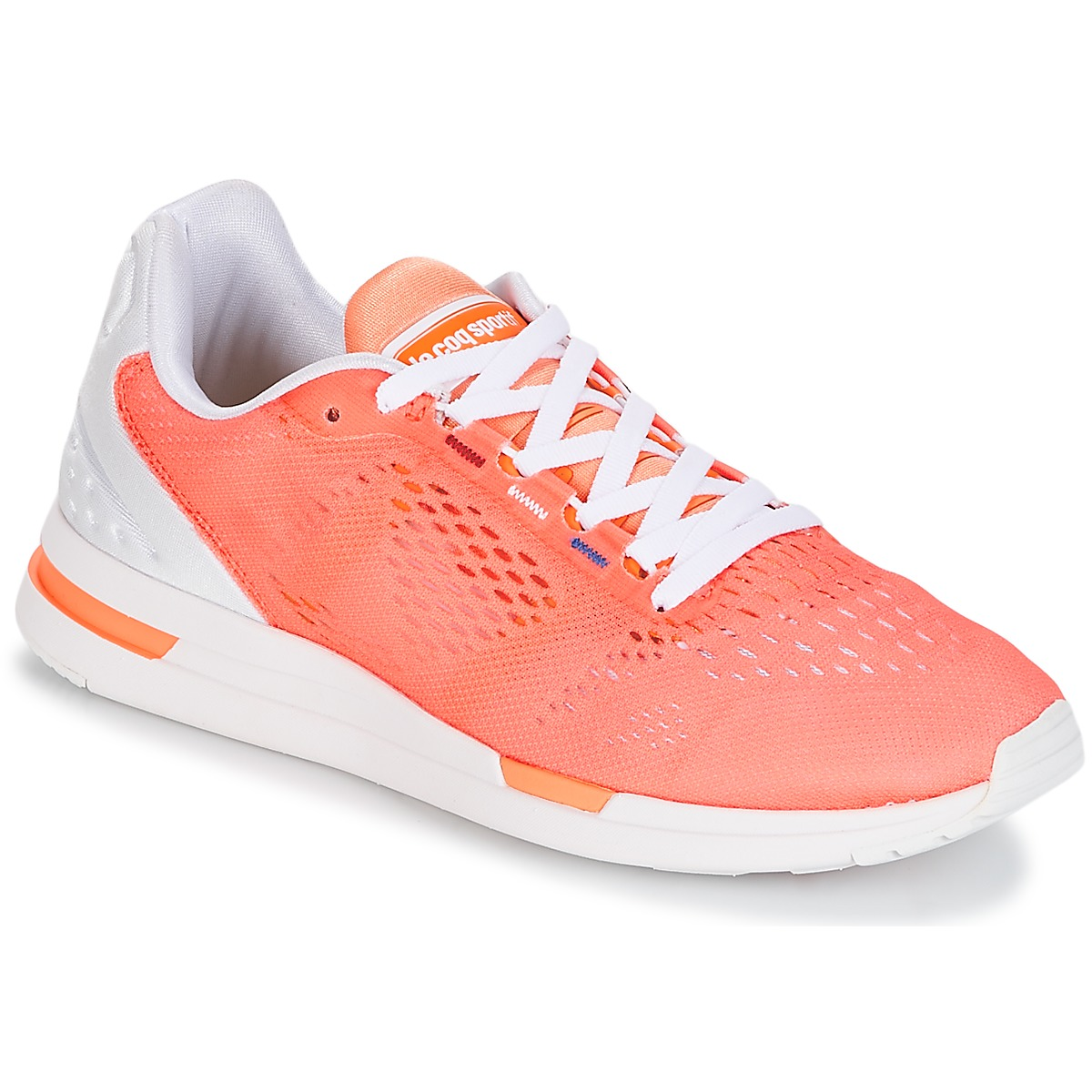 Le Coq Sportif LCS R PRO W ENGINEERED MESH Papaya / Punch - Kostenloser Versand bei Spartoode ! - Schuhe Sneaker Low Damen 83,30 €