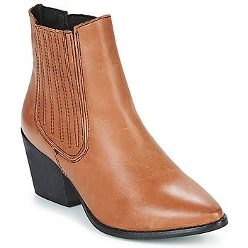 Schuhe Damen Low Boots Musse & Cloud BECKY Cognac