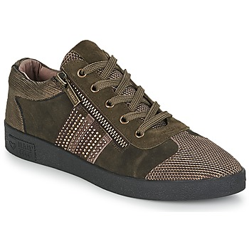 Schuhe Damen Sneaker Low Mam'Zelle BADRIA Braun