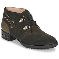 Schuhe Damen Boots Mam'Zelle XESTO Kaki