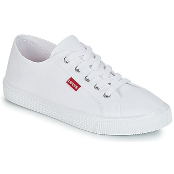 Schuhe Damen Sneaker Low Levi's MALIBU BEACH S Weiss