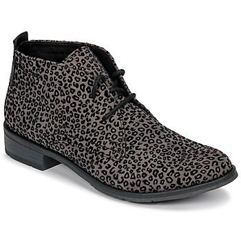 Schuhe Damen Boots Marco Tozzi PALANA Grau