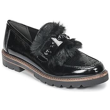 Schuhe Damen Slipper Marco Tozzi TANIT Schwarz