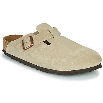 Schuhe Damen Pantoletten / Clogs Birkenstock BOSTON SFB Maulwurf