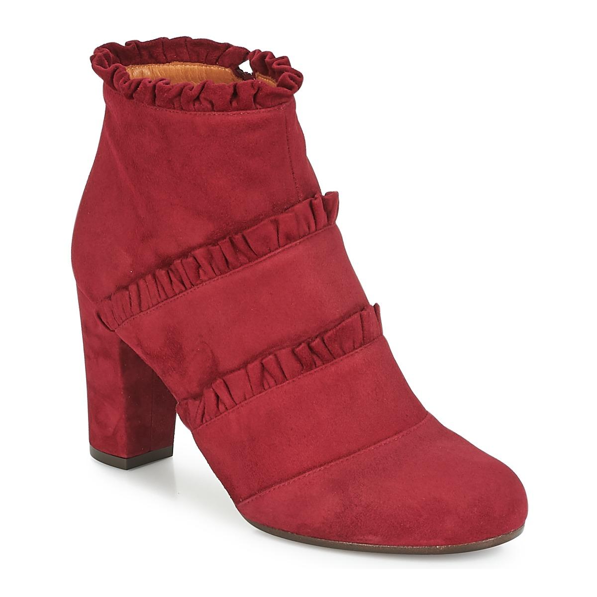 Chie Mihara KAFTAN Bordeaux - Kostenloser Versand bei Spartoode ! - Schuhe Low Boots Damen 363,00 €